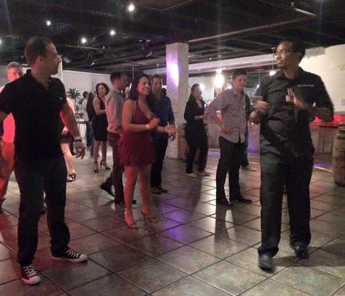 Salsa Night with BULAC at the Yuca Cuban Restaurant